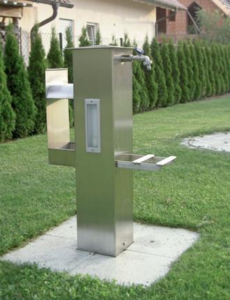 Wasserhahn Säule gartensäule | hochwind-solar heizung sanitär elektro im allgäu