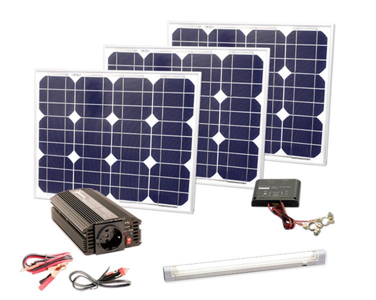 power solarstrom set 90w hochwind solar heizung sanit r. Black Bedroom Furniture Sets. Home Design Ideas